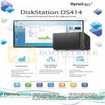 Memory World Synology NAS DiskStation DS414