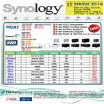 Synology NAS DiskStation DS713 Plus, DS214, DS213, DS412, DS414, DS1513, DS1813 Plus