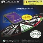 Transcend StoreJet 25H3P External Storage Drive