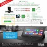 Xbox 360 Console 250GB 4GB, Surface Pro Tablet, Surface RT