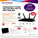 Wireless Routers, Nighthawk R7000, R6300v2, WNR2200