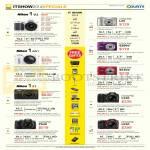Digital Cameras 1 V2, 1 AW1, 1 S1, Coolpix P530, L29, S2800, S6700, L330, L830