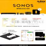 Sonos Wireless Home Theatre System Playbar, Sub, Bridge