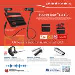 Features Bluetooth Mobile Headsets Backbeat Go 2, Voyager Legend, Marque 2 M165, M90