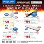 Cybermind Sensational Daily Deals, Powerline, Presenter, IPCam, 4G Modem