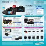 Digital Cameras, NX Lenses, NX30, NX300, NX300M, NX2000