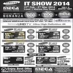 Samsung Mega TV UA65F9000, UA55F9000, UA75F8000, UA55F8000, UA46D5000, UA46ES7500
