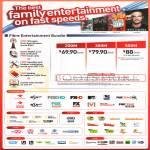 200Mbps 69.90 300Mbps 79.90 500Mbps 88.00 Fibre Entertainment Bundles, Mio TV Groups