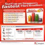Singtel Broadband Fibre Home Bundle Up To 6 Months Free, 200Mbps 49.90, 300Mbps 59.90, 500Mbps 79.90