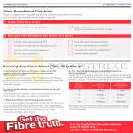 Fibre Broadband Checklist, FAQs