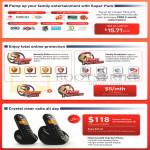 Mio TV Super Pack, Security Suite, Family Protection, Motorola C602 Dect Phone