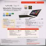 Tablets Vaio Tap 11 SVT11217CG, SVT11215CG, SVF15319CG, SVP11216CG