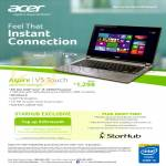 Acer Aspire Notebook V5-473P-54204G50a Specifications