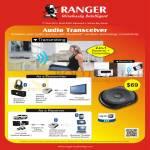 Systems Tech Ranger Audio Transceiver Transmitter Receiver