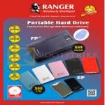 Systems Tech Ranger External Storage Drive FP 500GB, EP 1TB, Toshiba HDD