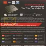 TV, Freedom VPN