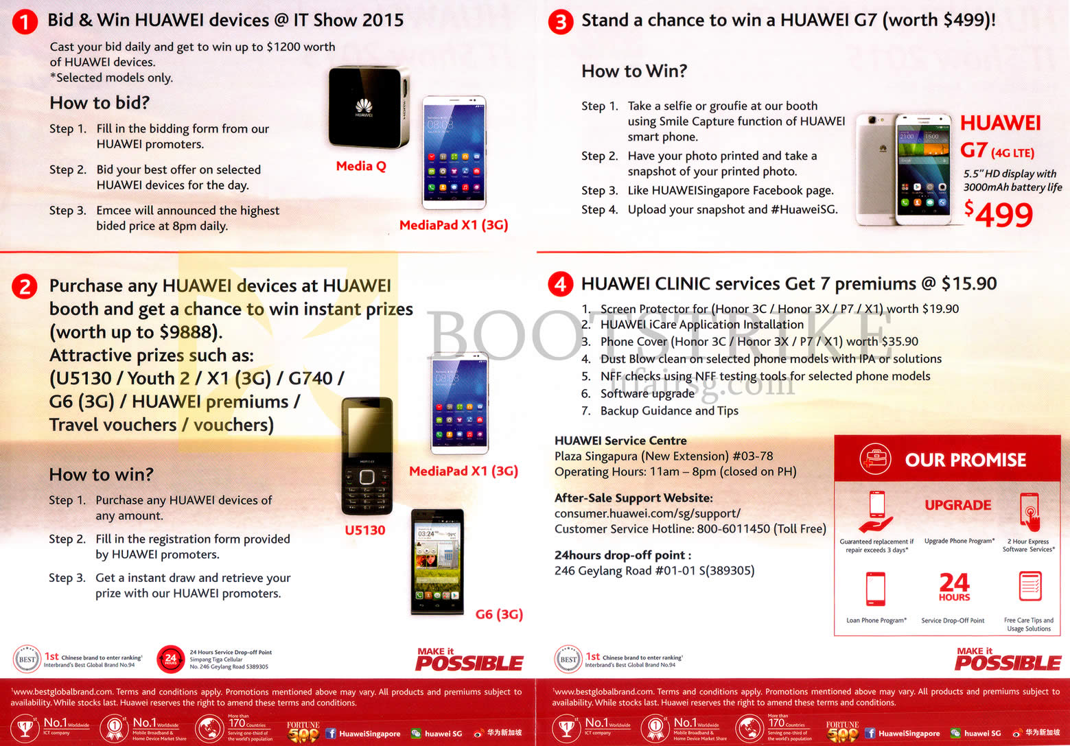 convergent huawei lucky draws clinic services it show 2015 price