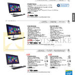 AIO Desktop PCs ET2230IUT-BO13Q, ET2321INTH-B073Q, B081Q, ET2323INT-BF031Q, BF032Q