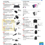 Accessories Mouse Pads, Mouse, USB Charging Stand, Dongle, Adapters, Sleeves, Backpacks, Carry Bag