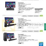 Desktop PCs BP1AD, BT1AE, BP1AE, BP1AD-i34150416F, I54590417F, BT1AE-i5459S037F, I54590105F