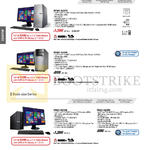 Desktop PCs M70AD-SG007S, M32AD-SG004S, P50AD-SG014S, P50AD-SG005S