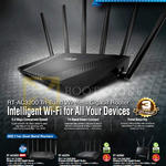 Networking Routers Tri-Band Dual Band RT-AC3200, RT-AC87U, RT-AC68U
