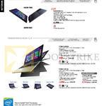 Notebooks Transformer Book Chi, Flip, T300CHI-FH011H, TP300LD-DW081H, TP500LN-DN118H, TP500LN-DN119H