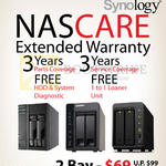 Ace Peripherals Asustor QNAP Synology NASCare Warranty