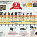 Foscam Business Comparison Table, IP POE WiFi Camera Home