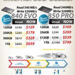 Samsung 840 EVO 120GB 250GB 500GB 1TB PRO 128GB 256GB 512GB