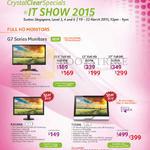 Acer Monitors G7 Series, G227HQL, G237HL, G277HL, K202HQL, T232HL