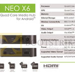 Minix Neo X6 Media Hub Android Media Player
