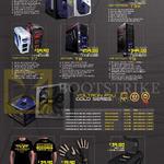 Desktop PC Case, Fan, T-Shirt, Glove, Nanotron T1X, Hectotron T3X, Teratron T7, Ziitron T8, Infinitron T9, Voltron PSU Gold Series, Tarasque