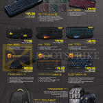 Keyboards, Backpacks, Mechanical Sentinel KAI-9, AK 550i, 300, 700, 770i, Stealth Raptor MKA-7, Strike Eagle MKI-3, Black Hornet MKA-3, Trooper Bag, Airbag Transit