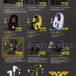Speakers, Headphones, Earphone, A7, Panzer V Lowe, III Elefant, Fuze 5, 7, Pulse 5, Avatar Pro ZX500, X5, X9, Mark 5, Nuke 7