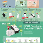 TP-Link Networking 4G LTE Mobile WiFi, Router, Range Extender, Cloud Camera, Powerline AV500 AV600