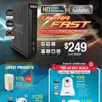 HL129EP Homeplug, WIPC410, WIPC409HD IP Camera, MT400 Air Purifier