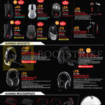 Cooler Master CM Storm Gaming Mouses, Earphones, Headsets, Mousepads, Alcor, Recon, CM Storm Resonar, Reaper, Pulse-R, Ceres 300