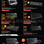 Cooler Master CMStorm Gaming Mechanical Keyboards, Combo Sets, Quickfire XT Mechanical. Quickfire TX Mechanical, OcLane Membrane, Devastator