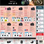 DSLR Digital Cameras, EOS 7D Mk II, 6D, 70D, 700D, 100D, 1200D, Legria, HF G30, Mini X, Mini