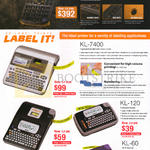Casio Labellers Ez-Label Printe Label It KL-7400, 820, 120, 60, Fx-FD10 Pro Survey Calculator