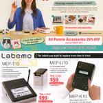 Casio Stamp Maker, Labeller, STC-U10, Labemo MEP-T10, U10, K10, Pomrie