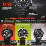 Casio Watches G-Shock Gulfmaster GWN-1000B, GPW-1000-1A, EQB-500D-1A, OCW-G1000-1A