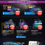 Notebooks, Mobile Phones Asus, Acer, Lenovo, X554LD, Padfone S, V3-371, Liquid X1, A328 Black