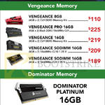 Corsair RAM Memory Kit Vengeance, Dominator