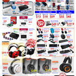 Accessories USB Hubs, Headphones, Keyboards, Mouse, Bluetooth Headset, SteelSeries, Microsof Sculpt, Transcend, Prolink
