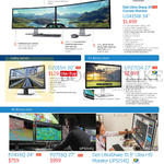 Monitors 4K 5K Curved Ultrasharp U3415W, D2015H, UP2715K, P2415Q, P2715Q, UP3214Q