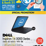 Newstead Inspiron 14 5000 Series Black Notebook