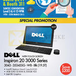 Newstead Inspiron 20 3000 Series Notebook