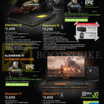 Notebooks Alienware 15, 17